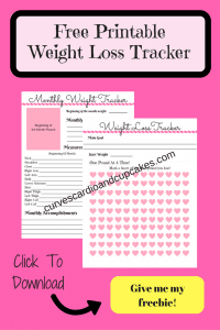 THE BEST weight loss tracker to keep you motivated to reach your goals and lose weight. Great for a weight loss binder or planner!