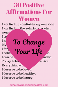 30 Positive Affirmations For Self Esteem And Confidence For Women