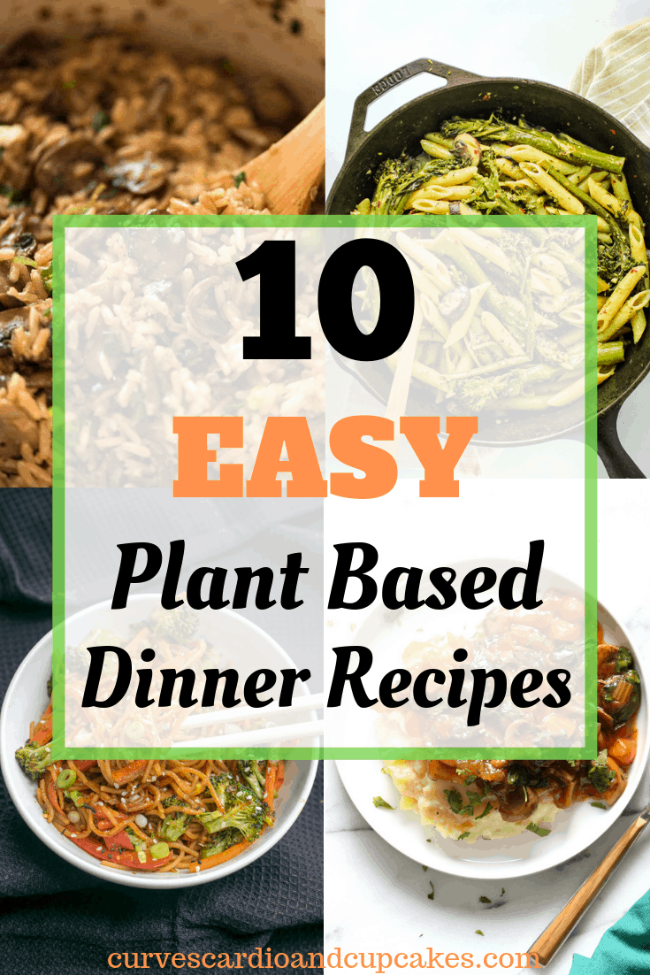 The best plant based dinner recipes if you're following a vegan diet, starch based diet, Forks Over Knives, or other whole foods plant based diet. Simple healthy vegan meals for dinner for weight loss to make clean eating easy for families. Also great for Meatless Monday. Easy plant based recipe ideas for beginners on a budget who want to regain health. Dairy free and vegetarian dinner ideas.