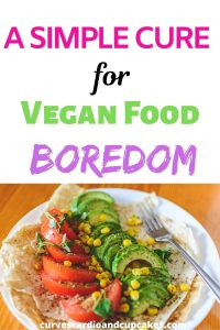 Are you following a vegan diet, but you're running out of meal ideas and becoming bored with vegan food? This easy tip will change your life and give you inspo for your vegan lifestyle healthy meals. This one hack will have you eating delicious vegan food every day and it's so simple to do. If you have a vegan home, your family will be so happy for you to use these recipes to change how they feel about eating vegan food. #veganfoodinspo #veganhacks