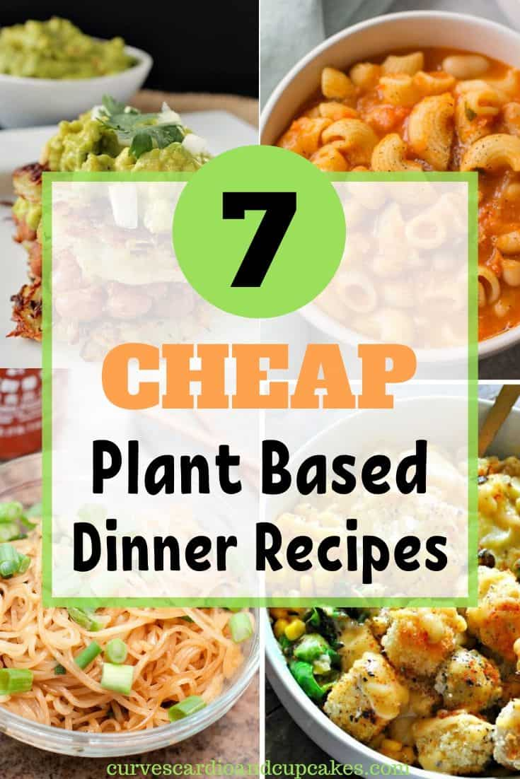 Easy healthy and cheap plant based dinner recipes. These frugal vegan meals using whole foods are perfect for beginners and families. Quick main dishes on a budget that are perfect for a plant based diet or Meatless Monday. Cheap meal prep using pasta, rice, tofu, bowls. These plant based dinner ideas are great for weight loss and you can make them fast. Add them to your plant based on a budget meal plan! #plantbasedonabudget #plantbaseddinner #plantbasedmaindishes