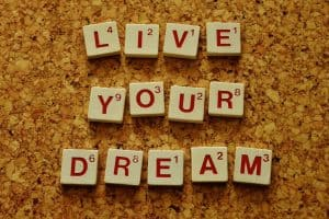 Live your dream and act as if you already have the appearance you desire