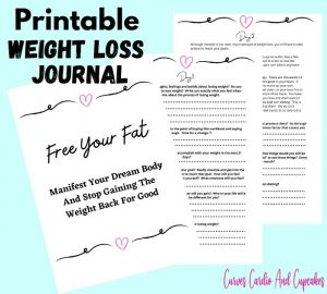 Printable Weight Loss Journal PDF to lose weight when you're 200 pounds