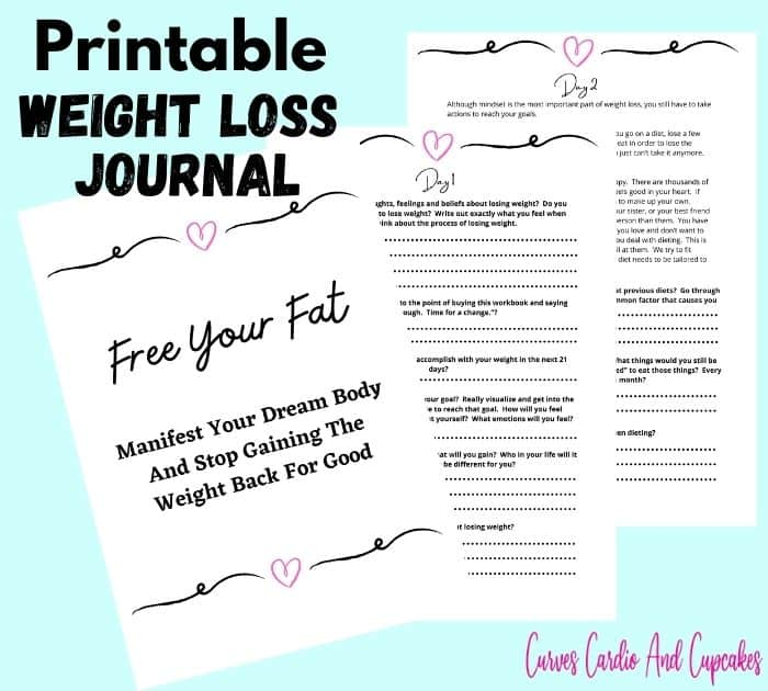 Printable Weight Loss Journal PDF