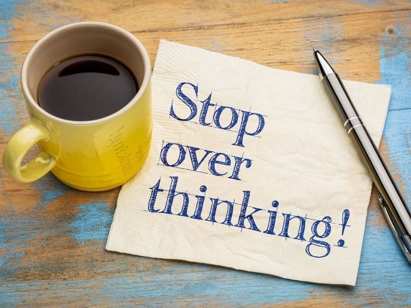 How to stop overthinking instantly with a new LOA technique